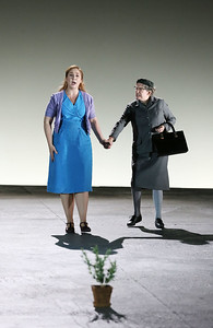 ENO Jenufa Laura Wilde and Valerie Reid (c) Donald Cooper