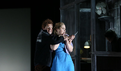 ENO Jenufa Peter Hoare and Laura Wilde (c) Donald Cooper