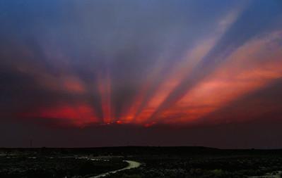 Pueblo fire sky sunsetTaos, NM6.2.2011