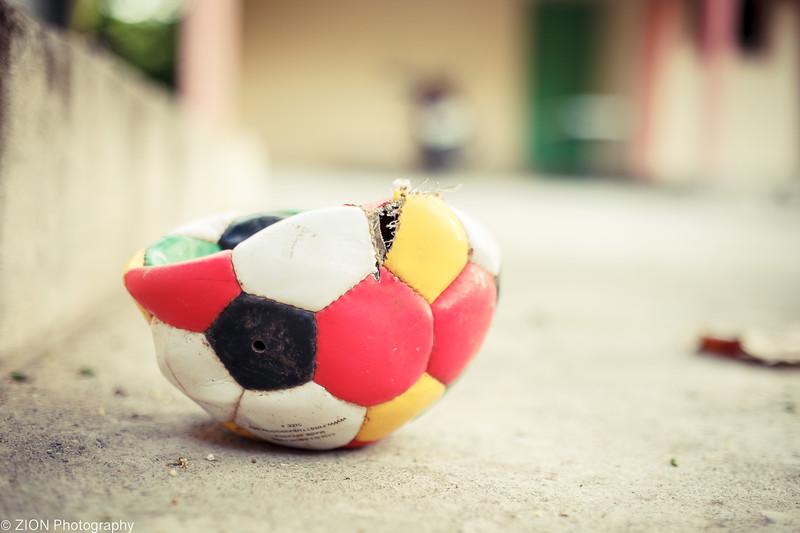 Car vs. Soccer Ball