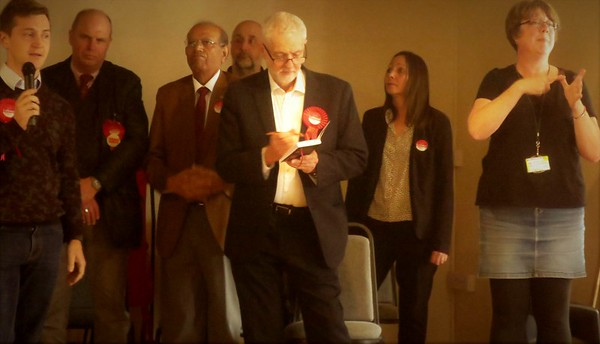 Jeremy Corbyn: Mytholmroyd April 14th 2018