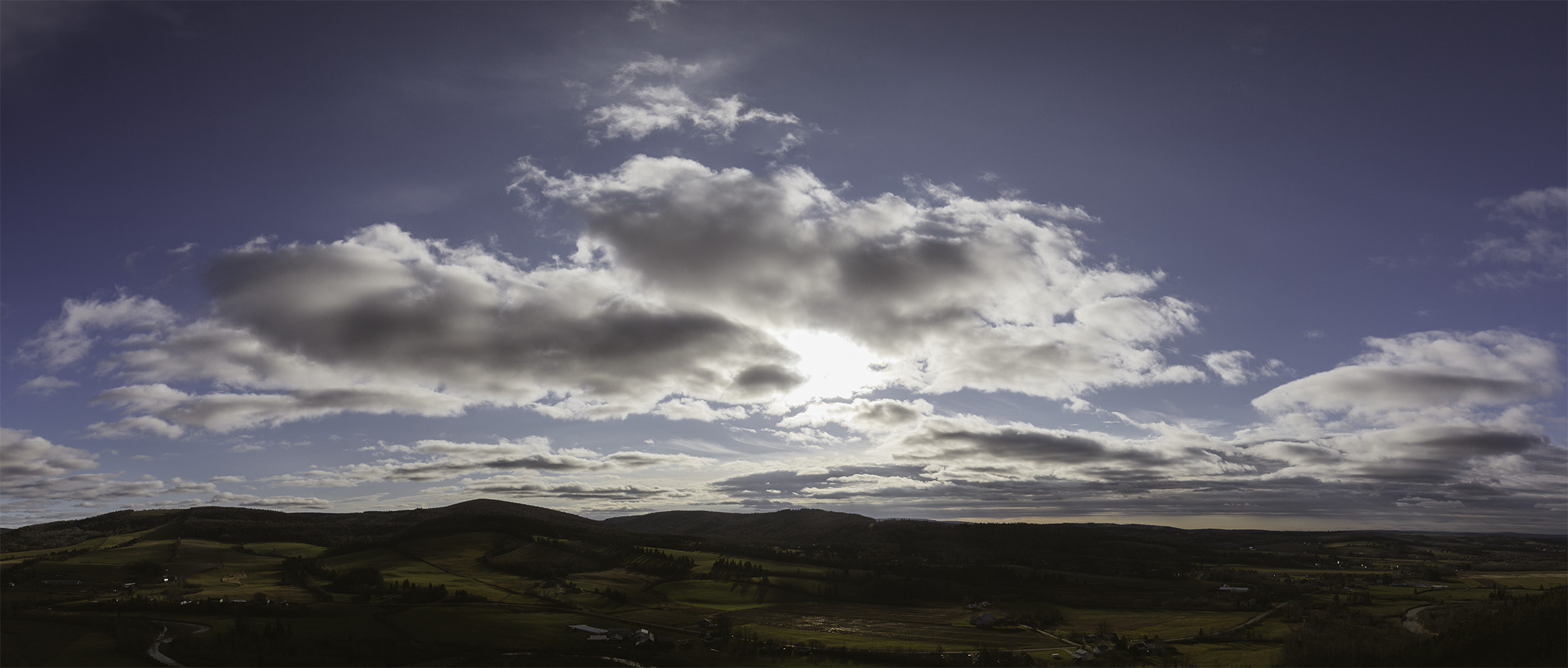 The bluff panorama