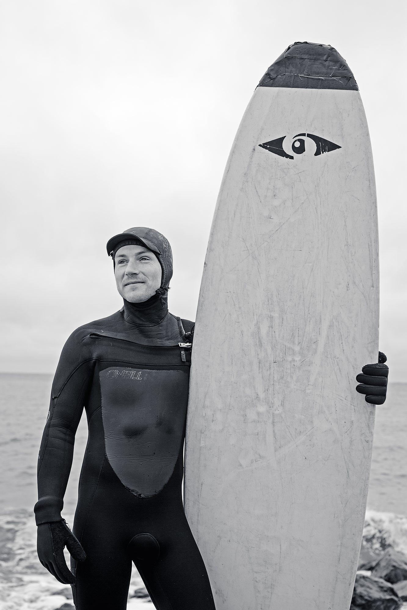 Sean Doucet Surfing