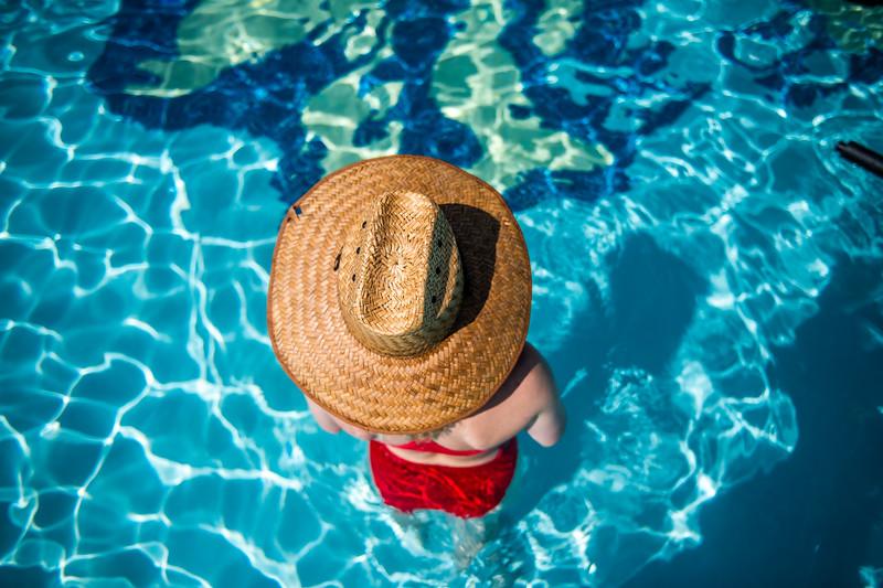 M21086- Campus Rec Pool, Lifeguards playing-1214