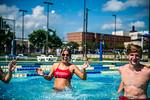 M21086- Campus Rec Pool, Lifeguards playing-1252