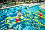 M21086- Campus Rec Pool, Lifeguards playing-1186