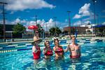 M21086- Campus Rec Pool, Lifeguards playing-1273