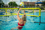 M21086- Campus Rec Pool, Lifeguards playing-1132