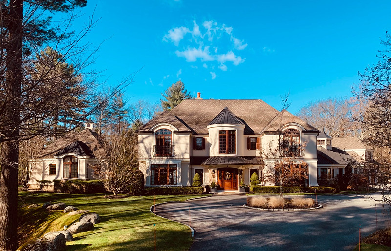 This palatial mansion in Andover was featured in the the 2009 movie 'The Invention of Lying.'