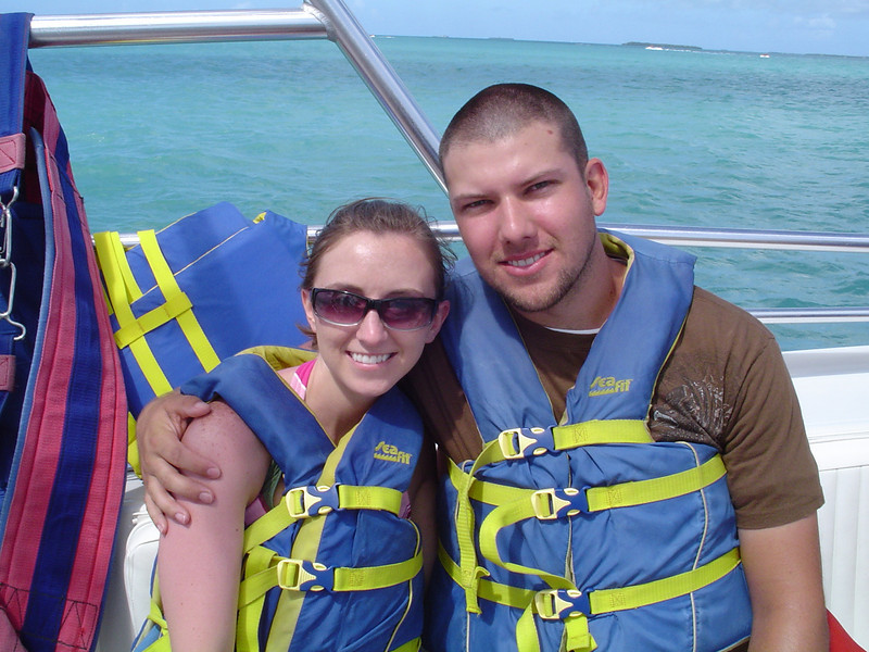 Our parasailing trip in Key West, FL.