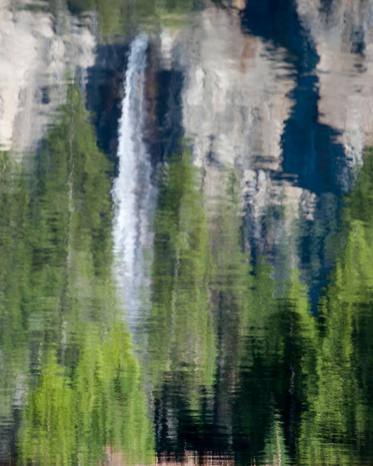 Yosemite falls reflections-Yosemite NP
