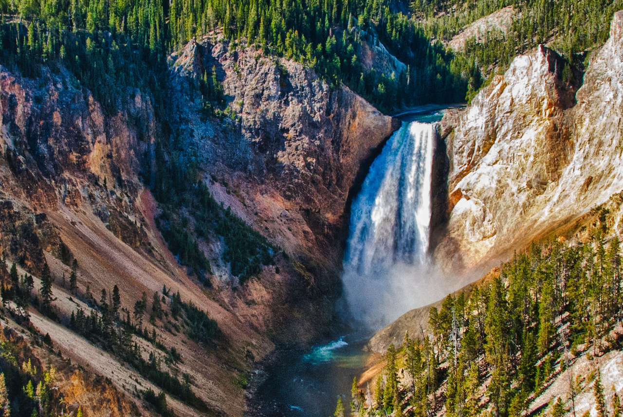 Grand Canyon of the Yellowstone-Yellowstone NP