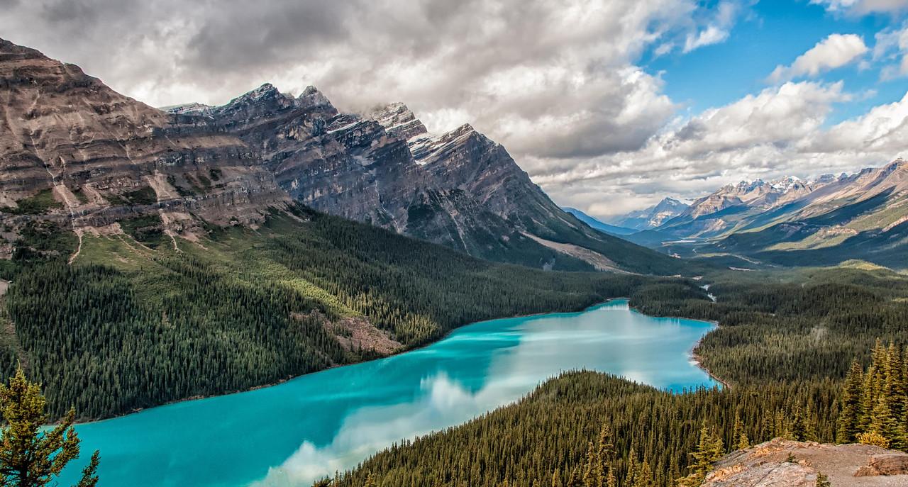 Peyto Lake-Canadian Rockies-Banff National Park