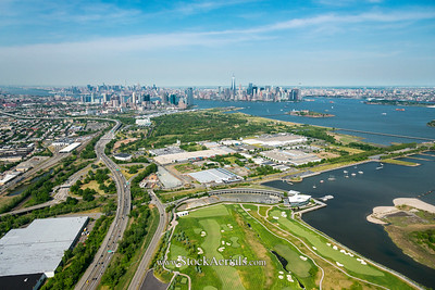 Aerial Photography of Jersey City NJ