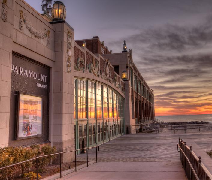 Convention Hall, Asbury Park Sunrise