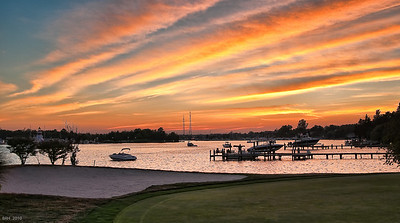 6th Hole Sunset Shots July 4 2010-5