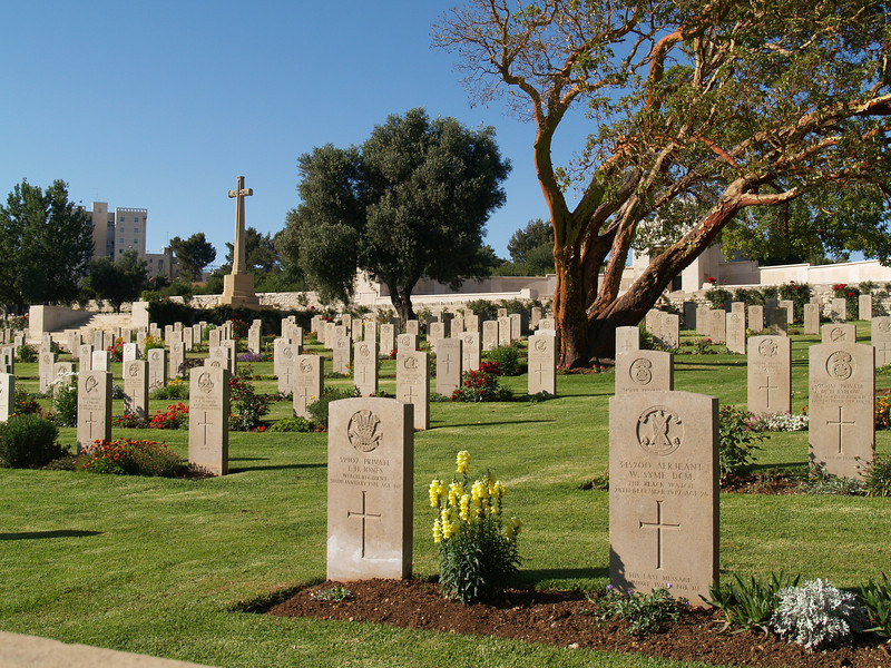 British World War I military cemetery