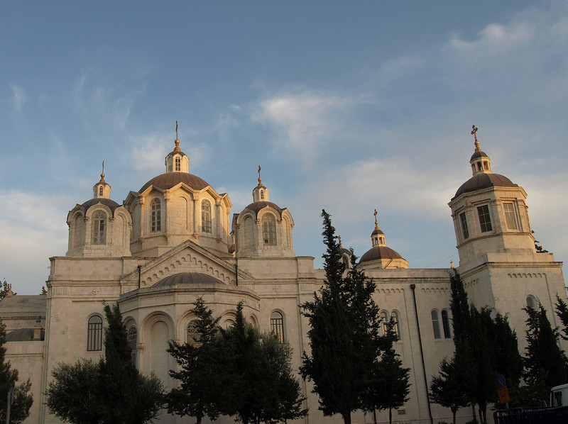 Russian Holy Trinity Church, located a short distance outside the Old City