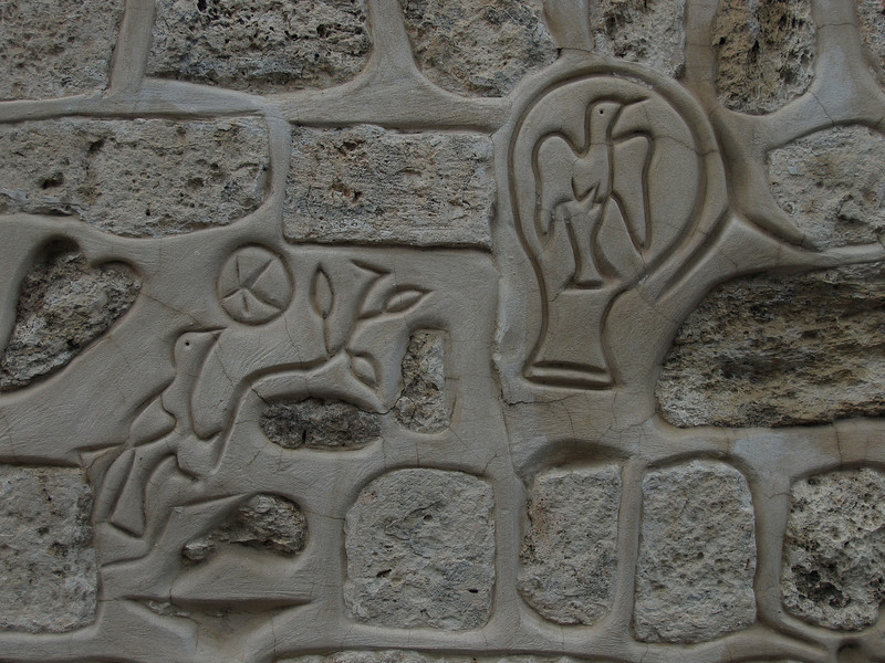 Wall detail; Armenian Quarter.