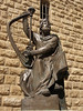 Mount Zion; statue of King David