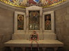 The abbey contains a  number of altars donated by various nations; this one comes from Hungary.