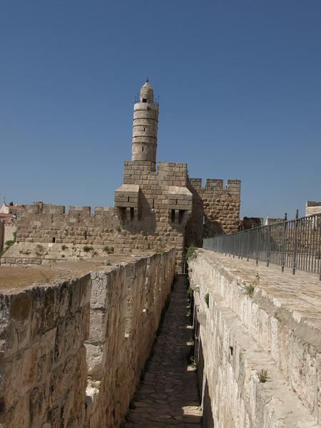 Passageway along the ramparts
