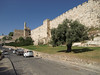 Old City walls and Citadel of Jerusalem
