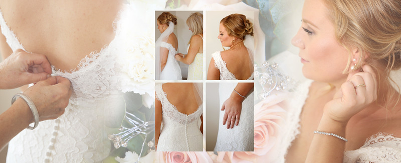 Jessie D Images - Bride collage