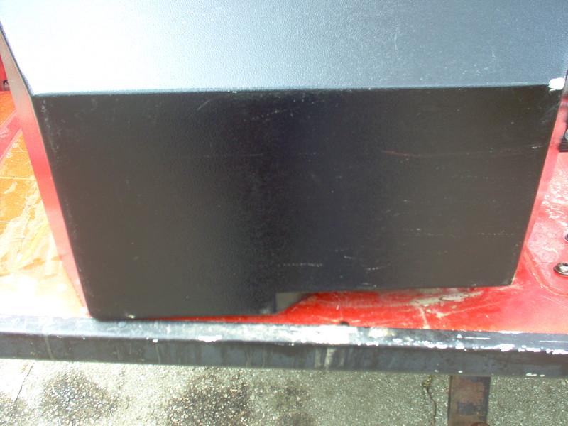 Curb Side Box - Bottom Panel - Note small scrape in top right corner.
