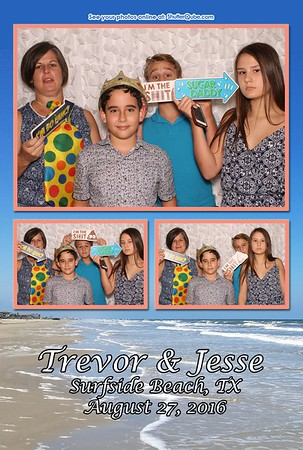 Jesse  &  Trevor Surfside, Tx 2016