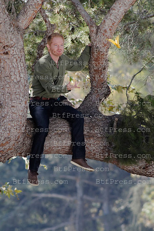 Jesse Tyler Ferguson during the set of Modern Family on ABC in Los Angeles, Caifornia.