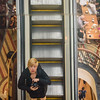 Selfie on the Escalator at Queen Victoria Building