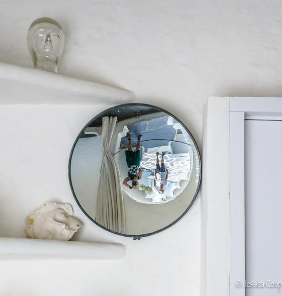 Upside Down Selfie at the Salvador Dalí House