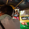 Selfie in the Side Mirror of a Tuk Tuk