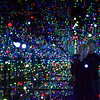 Selfie in the Yayoi Kusama Installation at the Louisiana Museum of Modern Art