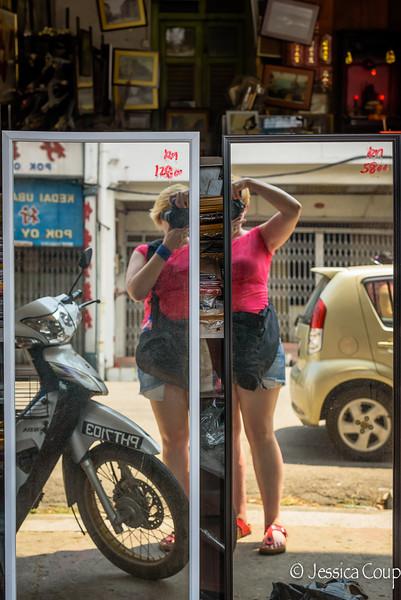 Double Selfie in Penang