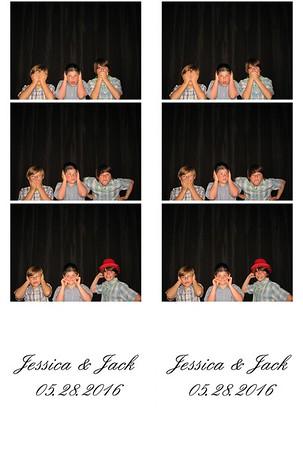 Jessica (Palsa) & Jack Turle III Photo Booth 05/28/2016