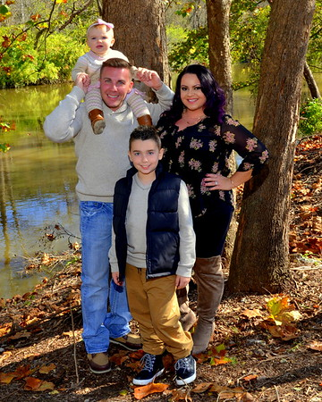 Jessica, Ryan and Family at Brecksville Metro Park October 30, 2016