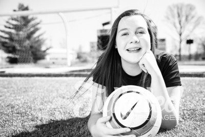 Jessica Sproat - Soccer and Cap and Gown Session (6)