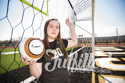 Jessica Sproat - Soccer and Cap and Gown Session (15)