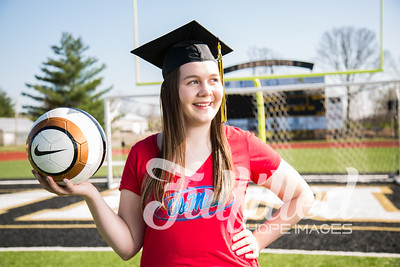 Jessica Sproat - Soccer and Cap and Gown Session (18)