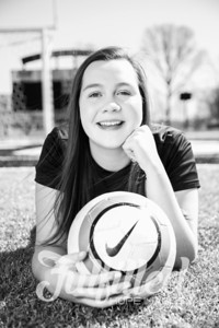 Jessica Sproat - Soccer and Cap and Gown Session (4)