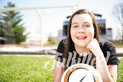 Jessica Sproat - Soccer and Cap and Gown Session (5)