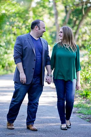 Jessica and Jason Treetops Engagement shoot