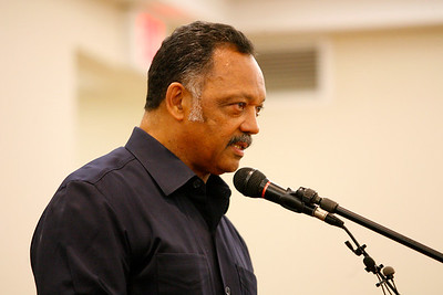 Jessie Jackson at Mount Olive Church South Bend Indiana