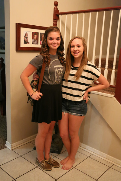 Jessika 1st Day of High School