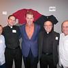 Matt Linn, SJ; James Shea, SJ; Rich Gannon; Joseph Weiss, SJ; and Al Bill