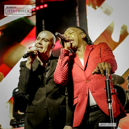 Michael Tait and Peter Furler - Newsboys United Tour in New Bern NC 4-13-18 by Annette Holloway Photography