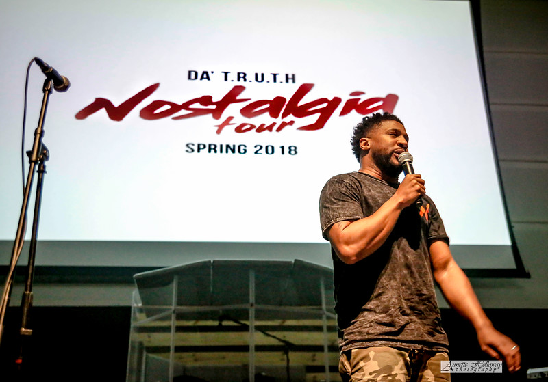 Da' TRUTH in concert for Nostalgia Tour at OV Church in Norfolk, Virginia on 3-24-18 by Annette Holloway Photography
