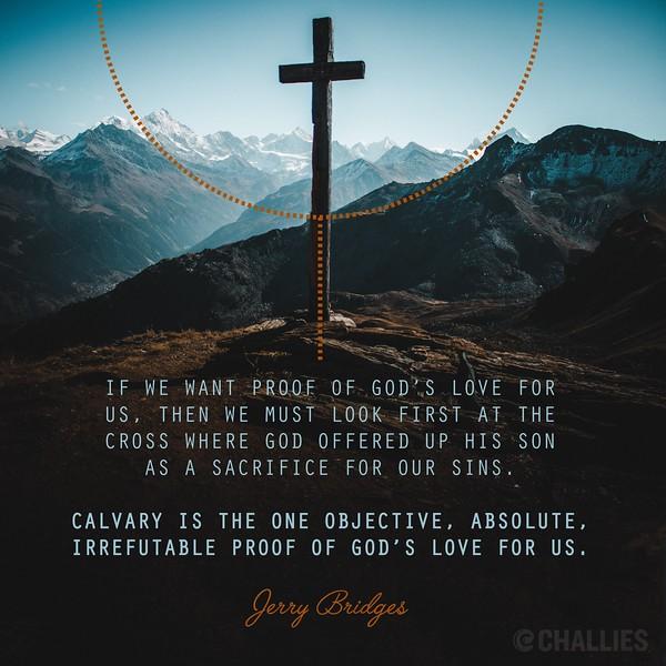 Jerry Bridges on Calvary